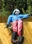 Local Fisherman Scarecrow