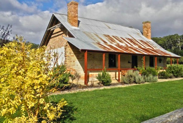 Photo: Arthur Orchard - Restored convict cottage in Koonya.