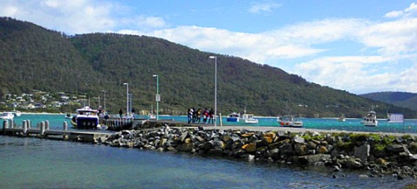 Arthur Orchard – a typical day on the jetty.